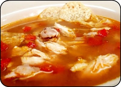 Chicken Soup, South American Style