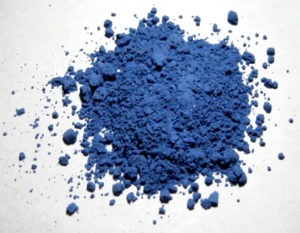 natural ultramarine pigment