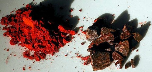Dragon's Blood powder and resin